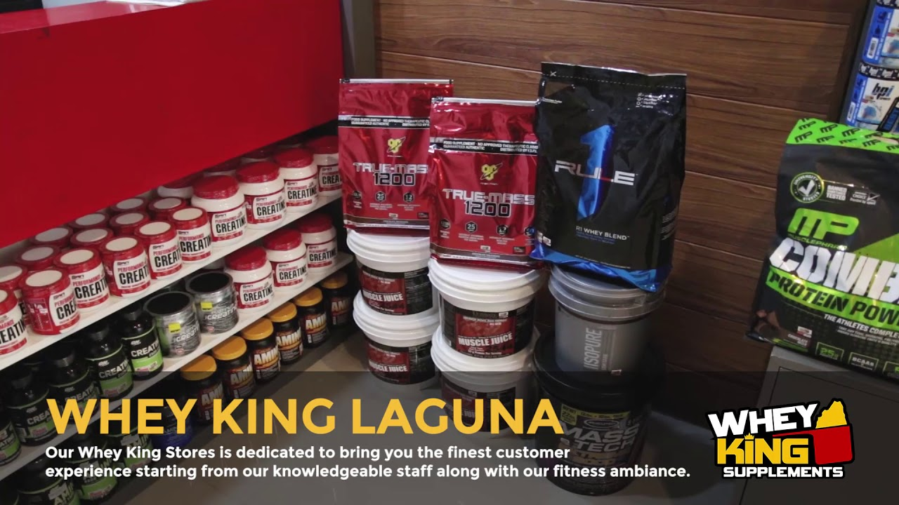 Whey King Supplements Laguna | Store Tour