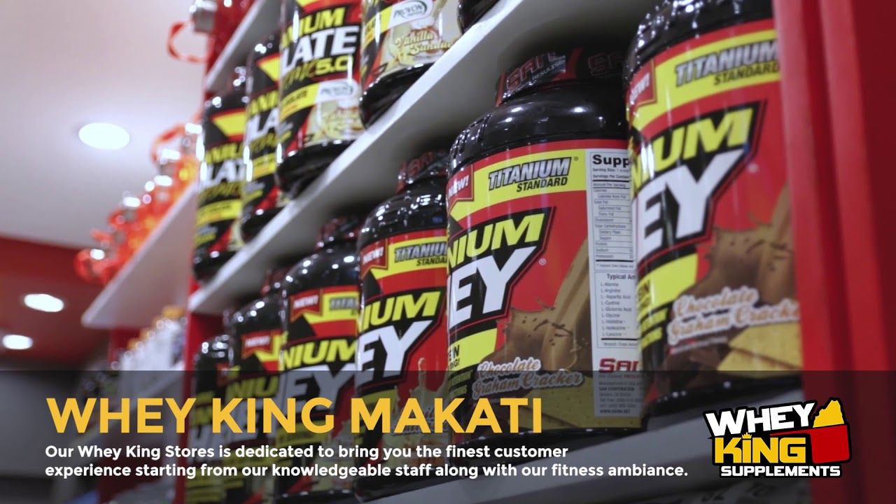 Whey King Supplements Makati | Store Tour