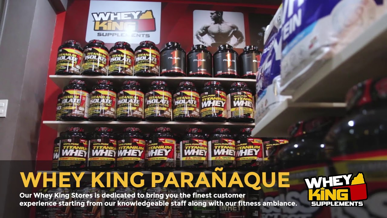 Whey King Supplements Paranaque | Store Tour