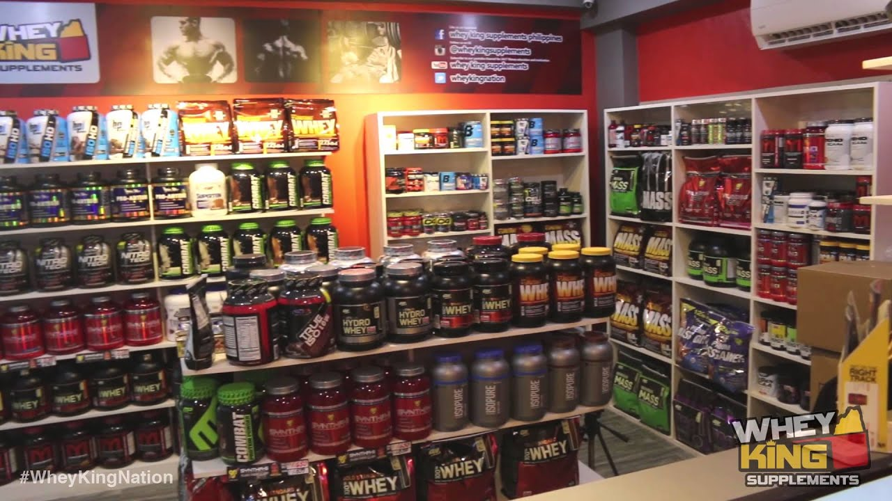 Whey King Supplements Philippines BF Homes Paranaque Now Open!