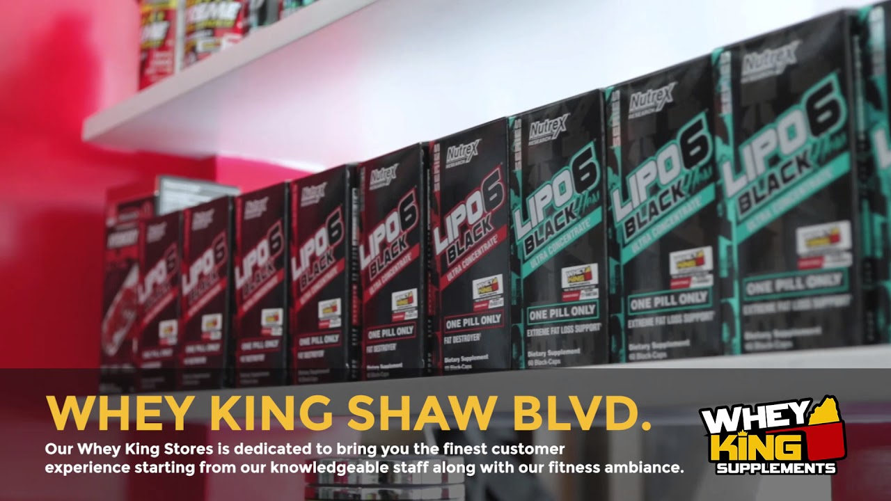 Whey King Supplements Shaw Blvd | Store visit