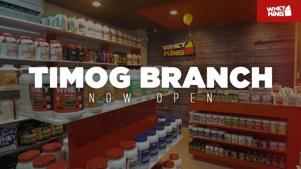 Whey King Supplements TIMOG Quezon City Grand OPENING!
