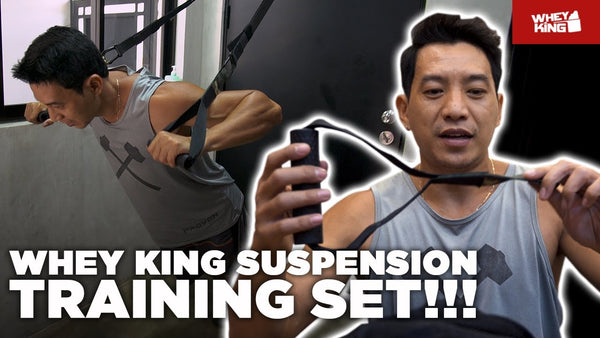 Whey King Suspension Training Set! | MUST HAVE!