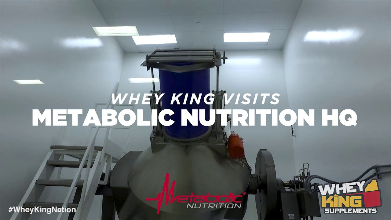 Whey King visits Metabolic Nutrition HQ USA!