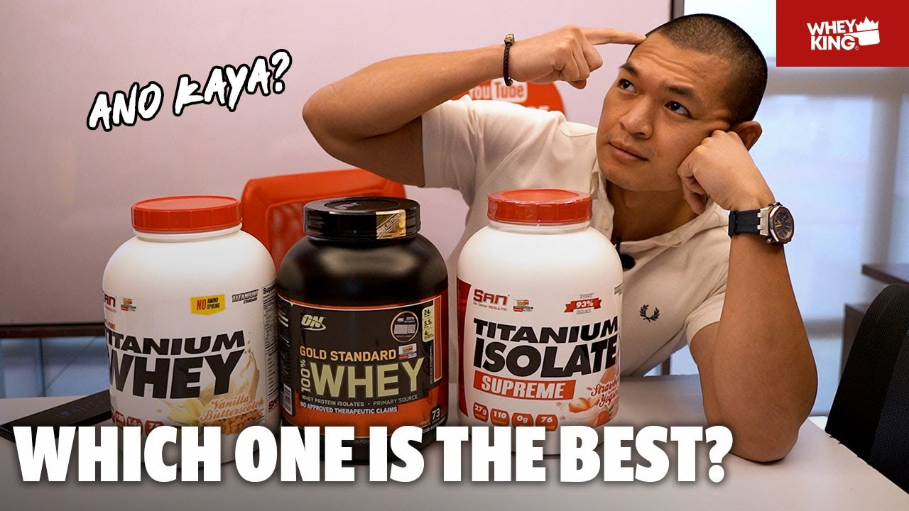 ON GOLD STANDARD WHEY vs SAN TITANIUM ISOLATE & WHEY|30K GIVEAWAY WINNERS!