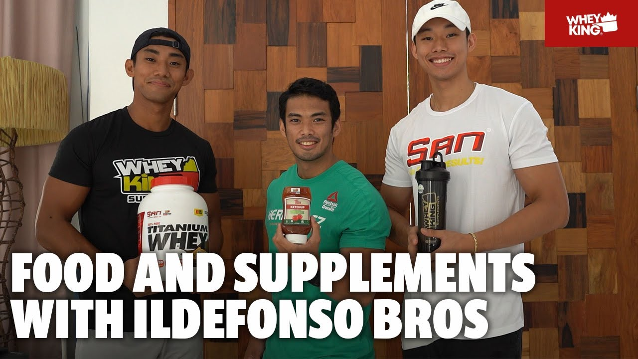 FOOD, DIET & SUPPLEMENTS WITH SHAUN AND DAVE ILDEFONSO! | DIET HACK!