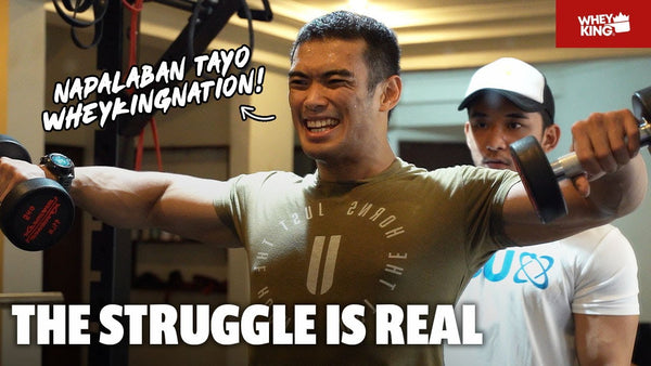 HOME GYM RAID WITH KEN HANAOKA! | KASAIYAN | VLOG#03