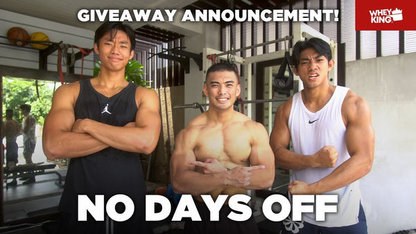 HOME GYM RAID WITH SHAUN AND DAVE ILDEFONSO | GIVEAWAY WINNERS | VLOG#02