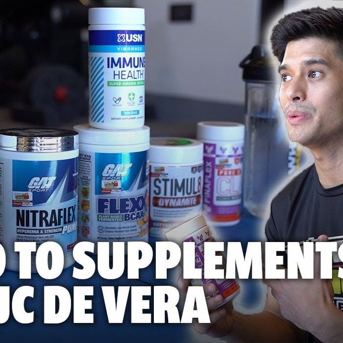 HEALTH AND FITNESS SUPPLEMENTS WITH JC DE VERA! | SECRET TO STAYIN FIT AND LOOKIN YOUNG REVEALED!