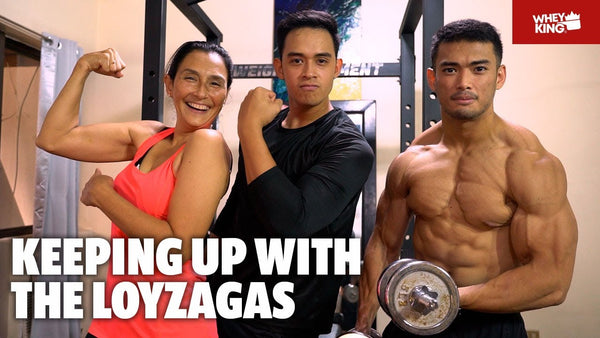 MOTHER AND SON HOME GYM RAID WITH DIEGO AND TERESA LOYZAGA! | BONUS YOGA ROUTINE! | vlog#09