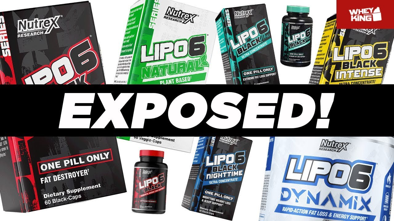 Nutrex LIPO 6 EXPOSED!