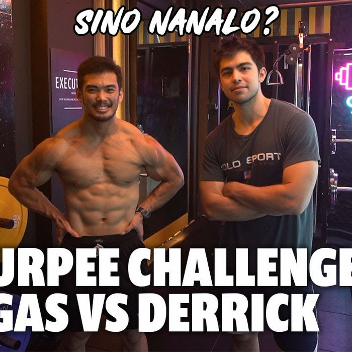 CLUB/BAR STYLE HOME GYM RAID WITH DERRICK MONASTERIO | FITTEST CHALLENGE!