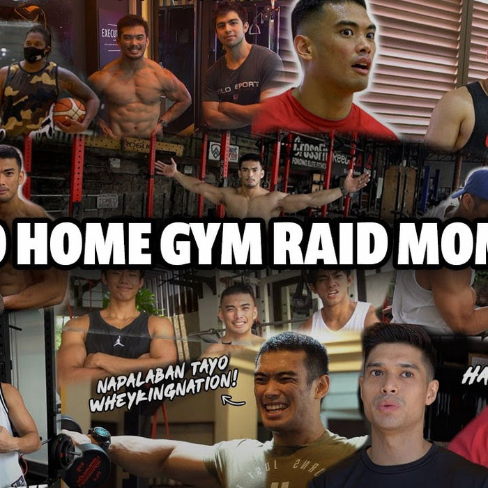 HOME GYM RAID TOP 10 BEST MOMENTS! | BLOOPERS!
