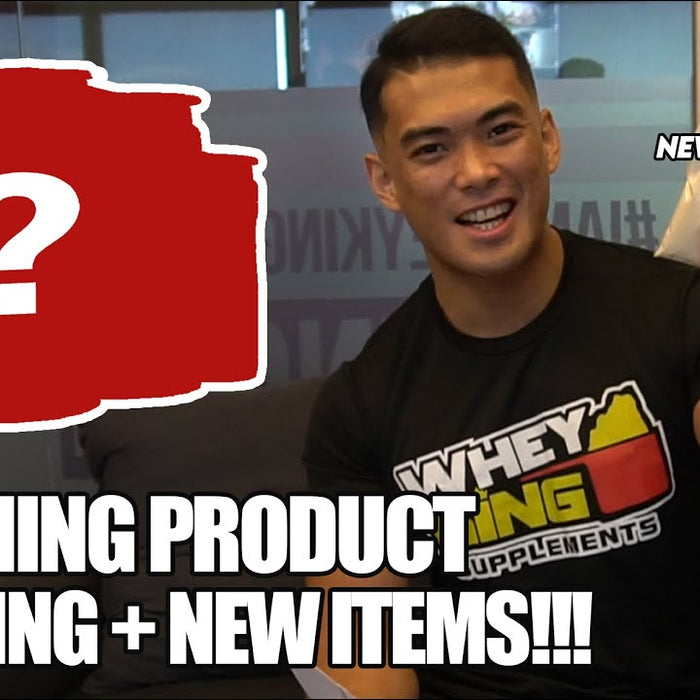 UPCOMING PRODUCT UNBOXING + NEW ITEMS!!! | WHEY KING VLOG!