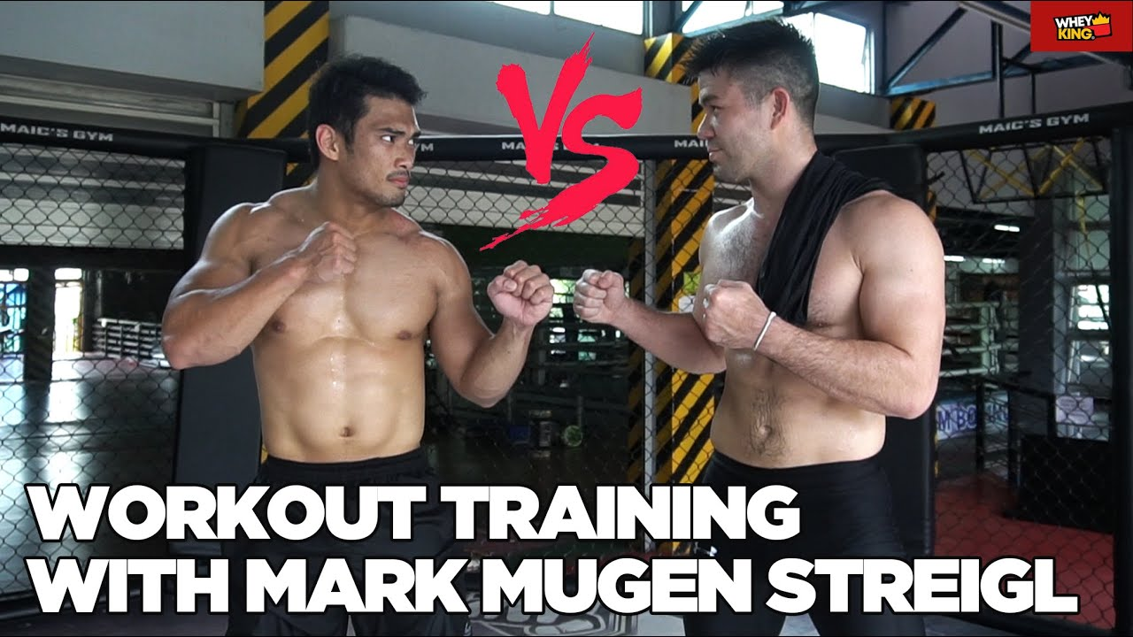 "MMA WORKOUT TRAINING SESSION WITH UFC FILIPINO FIGHTER MARK 'MUGEN"" STRIEGL! MUST LEARN TECHNIQUES!"