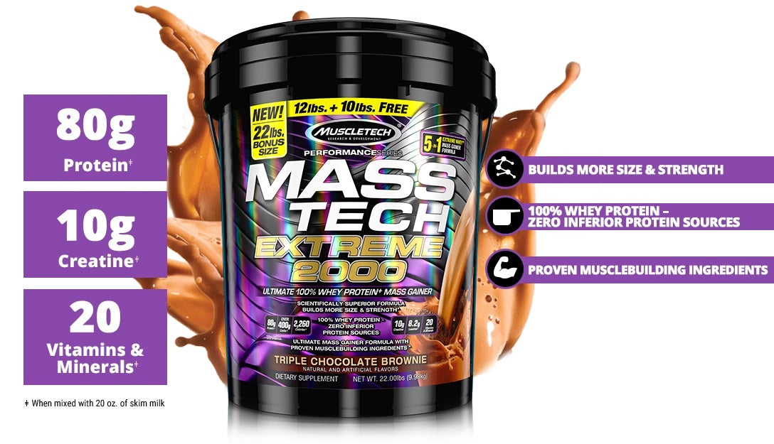 Shop MUSCLETECH MASS TECH EXTREME Online | Whey King Supplements Philippines | Where To Buy MUSCLETECH MASS TECH EXTREME Online Philippines