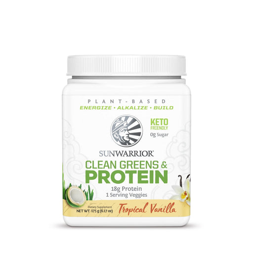 Shop 175G SUN WARRIOR Plant Based Clean Greens and Protein Online | Whey King Supplements Philippines | Where To Buy 175G SUN WARRIOR Plant Based Clean Greens and Protein Online Philippines