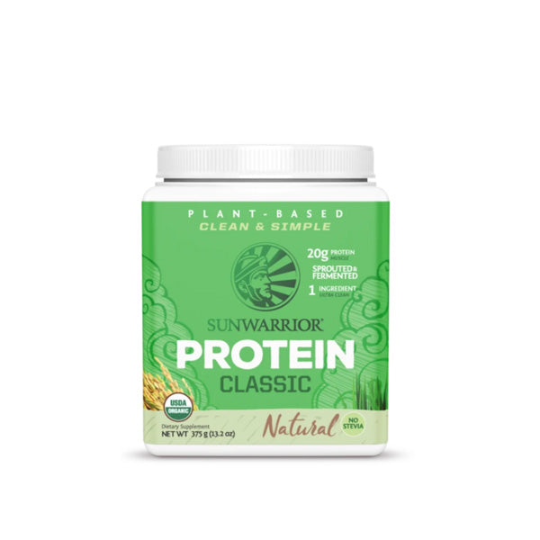 Shop 375 G SUN WARRIOR Organic Plant Based Classic Protein Online | Whey King Supplements Philippines | Where To Buy 375 G SUN WARRIOR Organic Plant Based Classic Protein Online Philippines