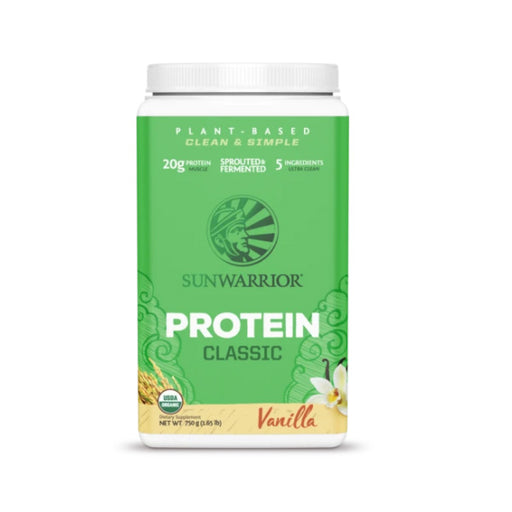 750G SUN WARRIOR Organic Plant Based Classic Protein