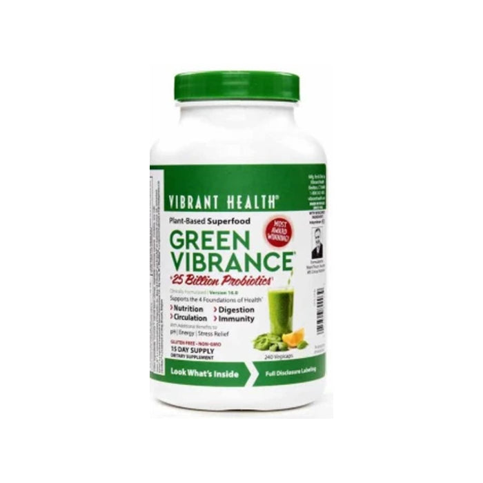 Shop 240CAPS VIBRANT GREEN VIBRANCE - PLANT BASED SUPER FOOD Online | Whey King Supplements Philippines | Where To Buy 240CAPS VIBRANT GREEN VIBRANCE - PLANT BASED SUPER FOOD Online Philippines