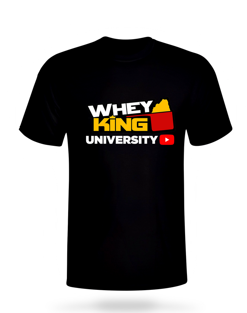 Shop WHEY KING UNIVERSITY SHIRT Online | Whey King Supplements Philippines | Where To Buy WHEY KING UNIVERSITY SHIRT Online Philippines