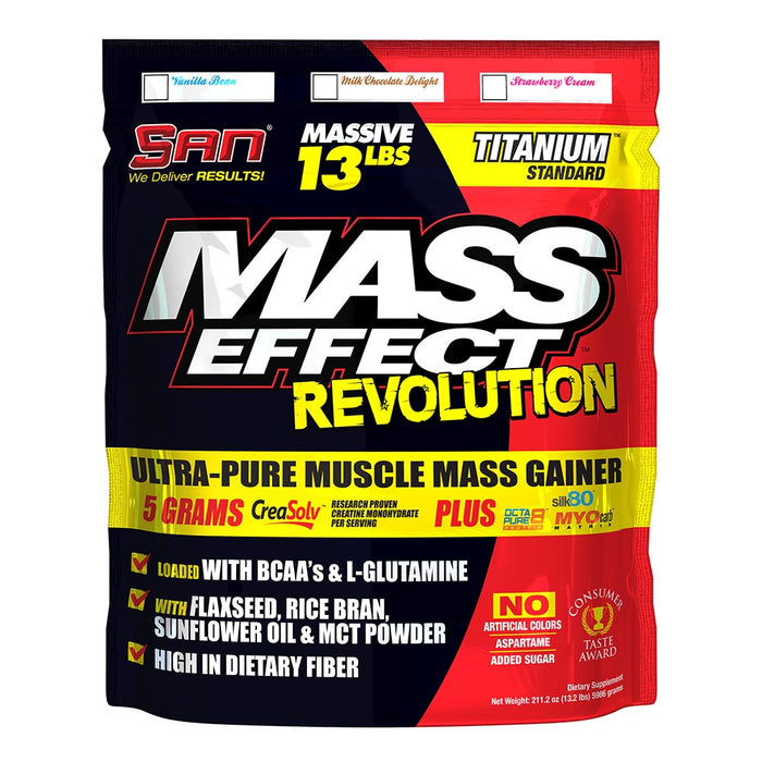 Shop 13LBS SAN MASS EFFECT MILK Online | Whey King Supplements Philippines | Where To Buy 13LBS SAN MASS EFFECT MILK Online Philippines