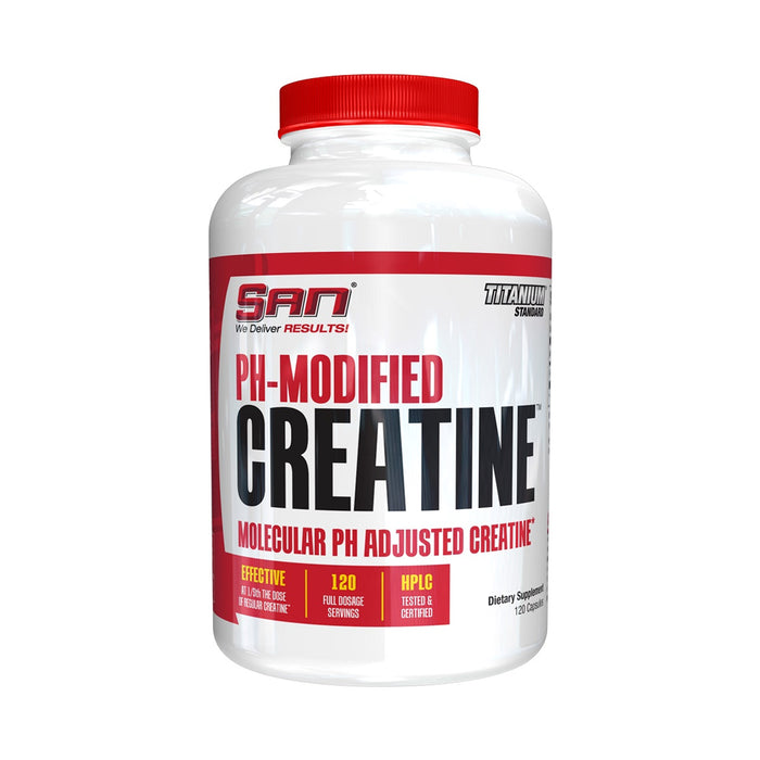 Shop 120CAPS SAN PH MODIFIED CREATINE Online | Whey King Supplements Philippines | Where To Buy 120CAPS SAN PH MODIFIED CREATINE Online Philippines