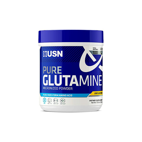 Shop USN Pure Glutamine Unflavored- 500 G Online | Whey King Supplements Philippines | Where To Buy USN Pure Glutamine Unflavored- 500 G Online Philippines