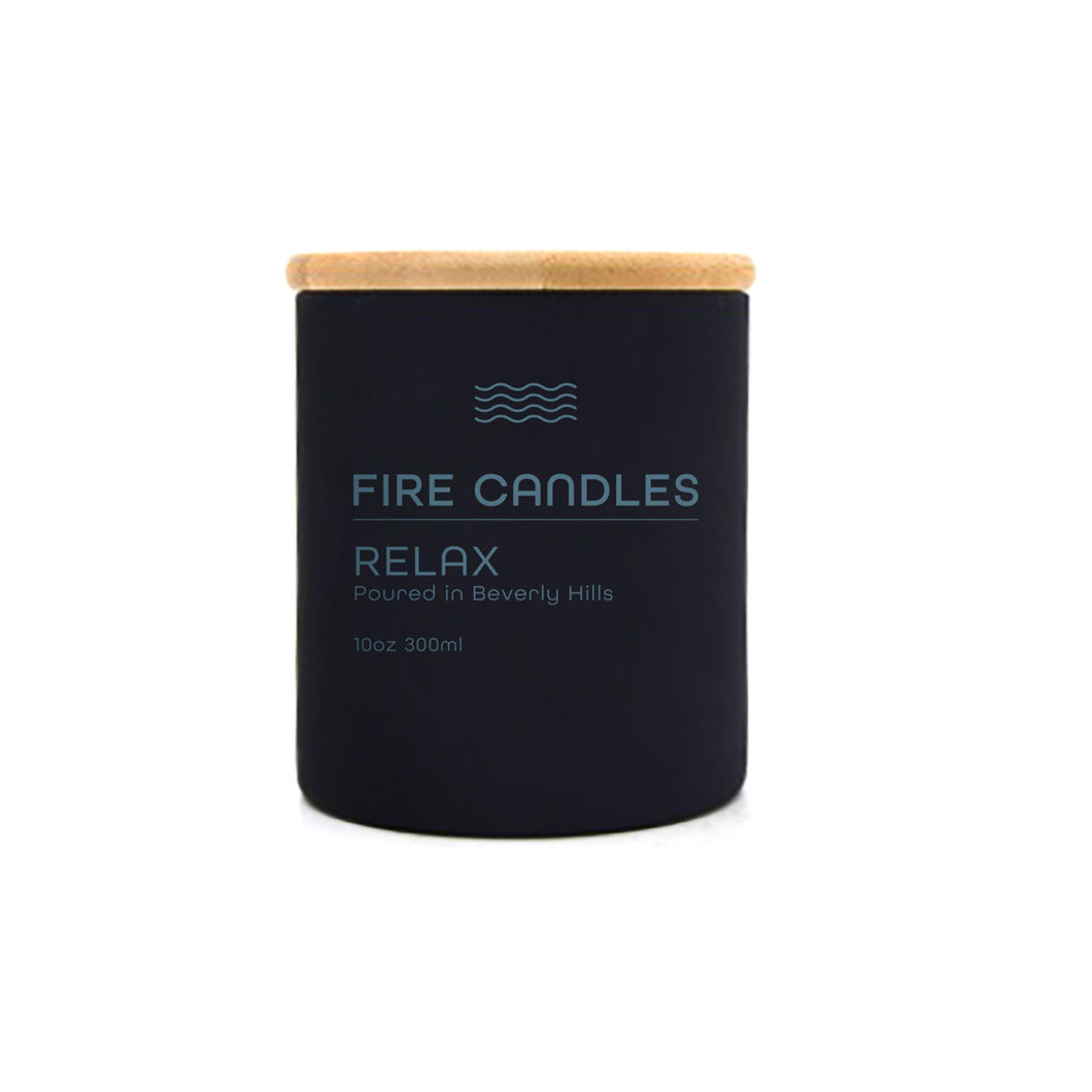 Relax - Fire Candle