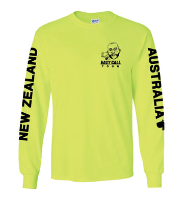 Australia/New Zealand Eazy Call Tour Tee
