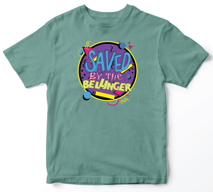 Saved By The Bellinger - Green Tee