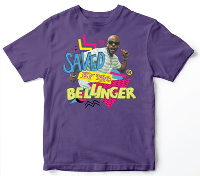Saved By The Bellinger - Purple Tee