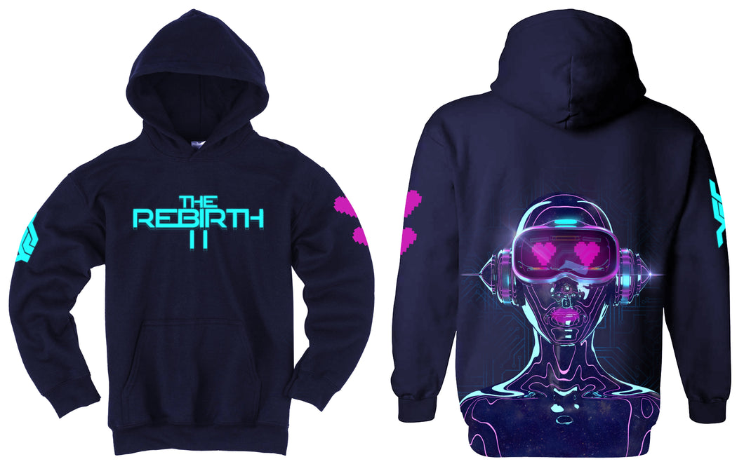 The Rebirth II Graphic -Hoodie