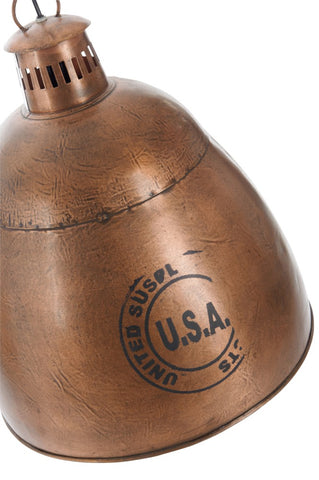 "Industrielampe ""USA"" Copper"