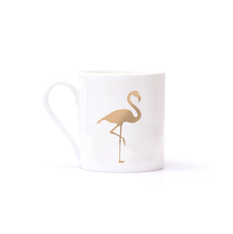 "Tasse ""Be Happy"" gold"