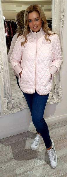 Soft Pink Short Padded Jacket