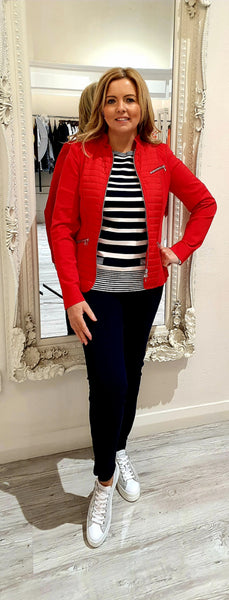Red Short Sports Jacket
