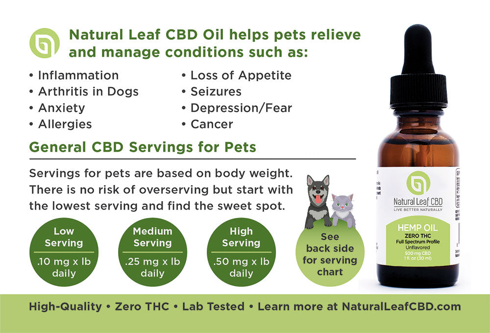 natural leaf cbd oil for pets