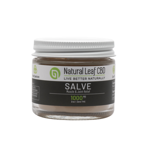 CBD Topical Salve | Zero THC | 1000mg