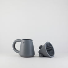 Load image into Gallery viewer, LOVE HANDLE pour over coffee set / deep grey