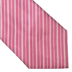 Brioni Striped Tie - Pink