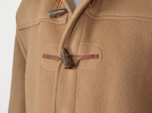 Gloverall Duffle Coat Size UK 42 EU 52 - Tan
