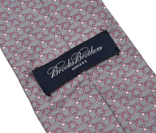 Load image into Gallery viewer, Brooks Brothers Printed Silk Tie - Chains
