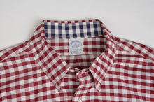 Load image into Gallery viewer, Brooks Brothers Shirt Size XL Slim Fit - Red Gingham