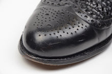 Load image into Gallery viewer, Ludwig Reiter Basket Weave Shoes Size 8 - Black
