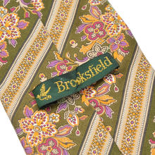 Load image into Gallery viewer, Brooksfield Cotton Print Tie - Floral