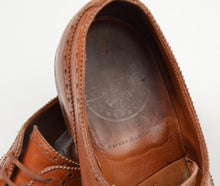 Load image into Gallery viewer, Alt Wien x Crockett & Jones Cap Toe Brogue Shoes Size 8E - Cognac Brown