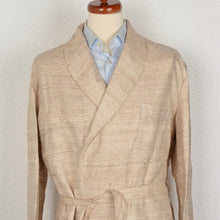 Load image into Gallery viewer, Novila Pure Shantung Silk Robe - Oatmeal
