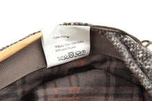 Load image into Gallery viewer, Stetson Hatteras Donegal Tweed Flatcap Hat Size 55/S - Brown