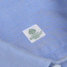 Load image into Gallery viewer, Luigi Borrelli Dress Shirt Size 41 - Blue